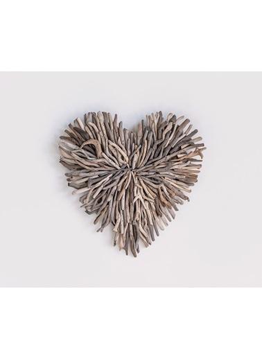 Warm Design Driftwood Kalp Duvar Dekoru Kahve